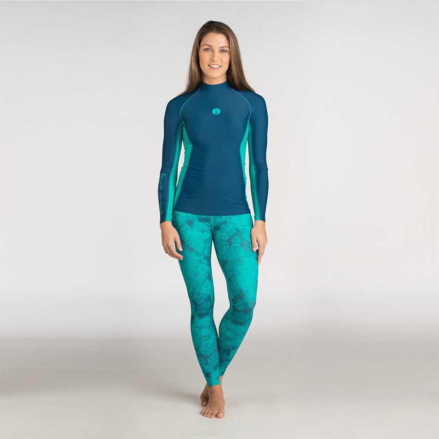 Hydroskin And Leggings Turquoise Petrol